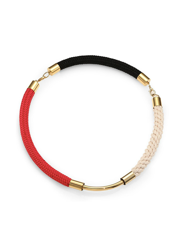 Marni Multicolor Rope Necklace