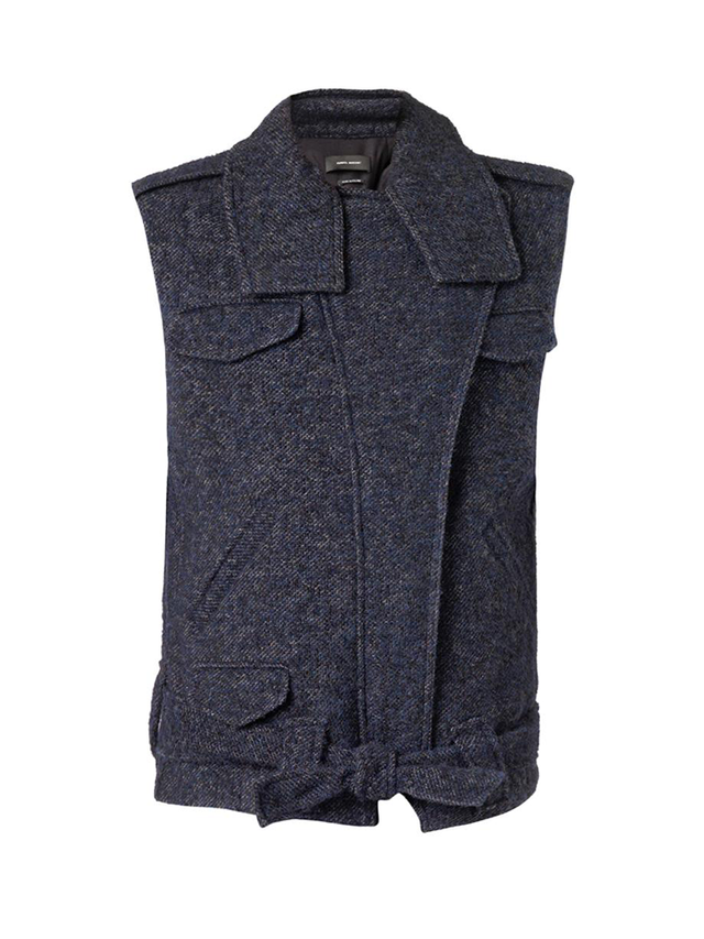 Isabel Marant Estelle Wool-Blend Oversized Gilet