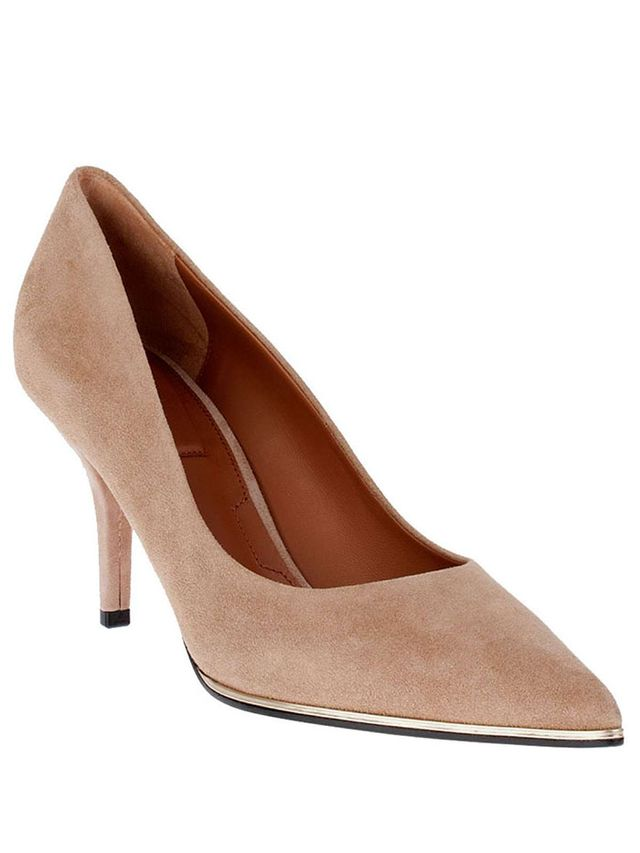 Givenchy Camel Suede Leather Pump