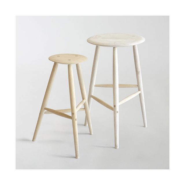 Sawkille Co. Raw Bleached Maple Drink Stool