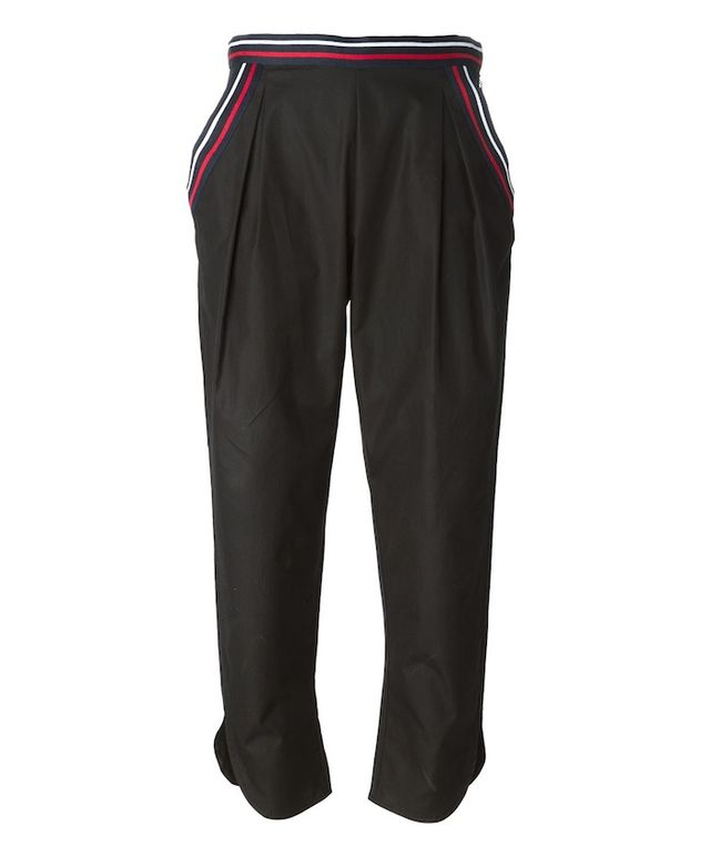 See By Chloé Striped Trim Trousers