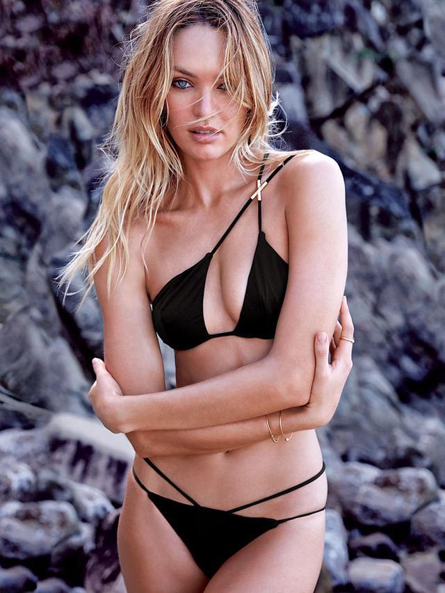 Victoria's Secret One-Shoulder Triangle Top