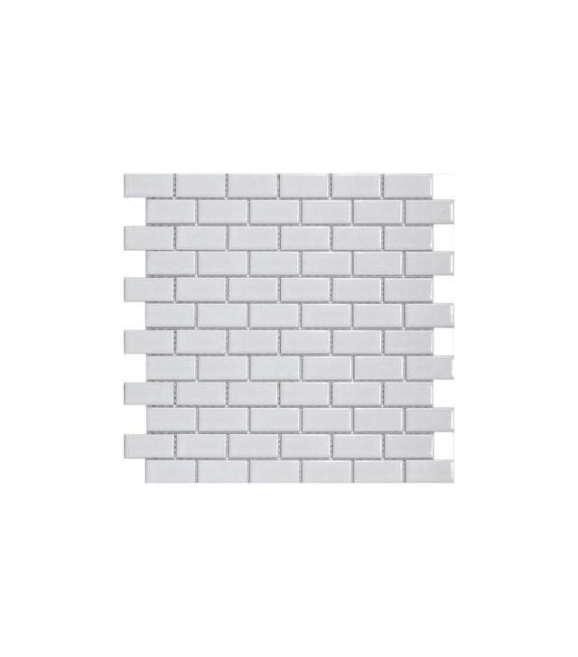 Home Depot Metro Subway Glossy White Tile (Set of 10)