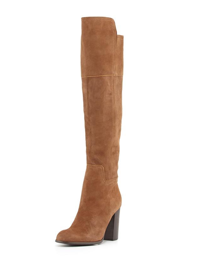 Pour La Victoire Talia Suede Over-the-Knee Boots