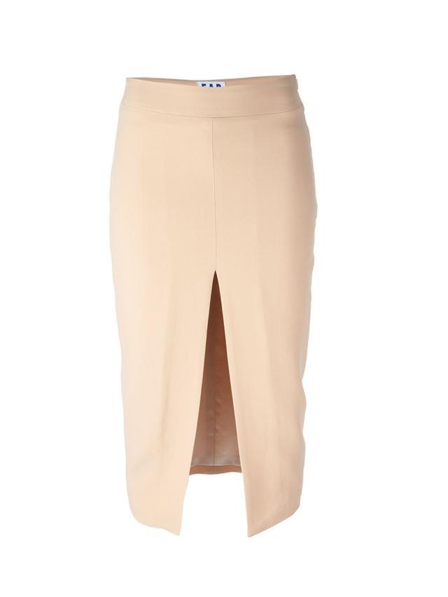 Filles A Papa Front Slit Skirt
