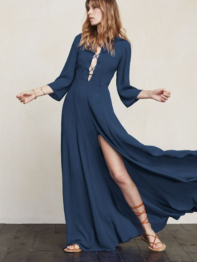 The Reformation Leighton Dress