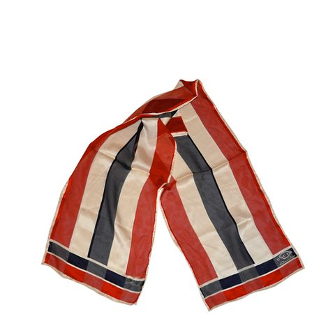 """American Stripes"" Silk Scarf"