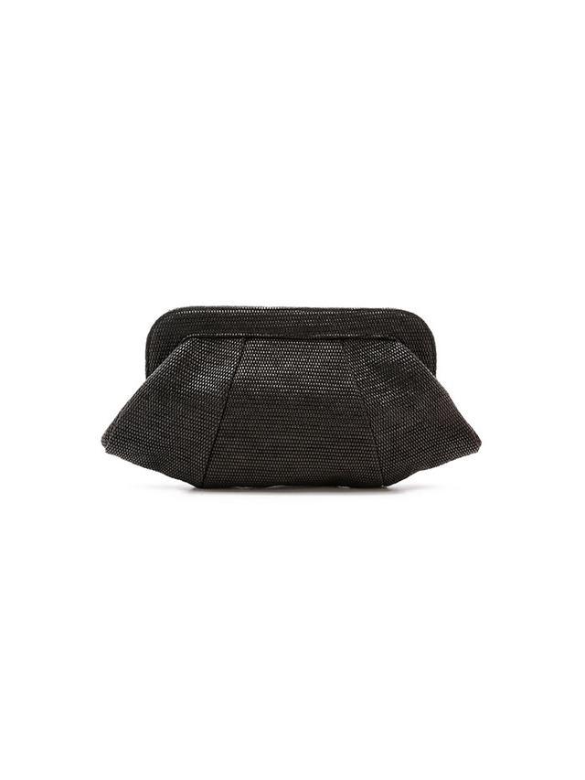 Lauren Merkin Handbags Straw Tatum Clutch