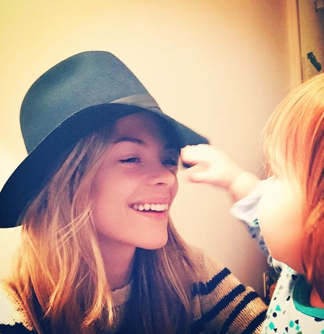 Who: Jaime King  What's your favorite Instagram filter for selfies? Tell us in the comments below!