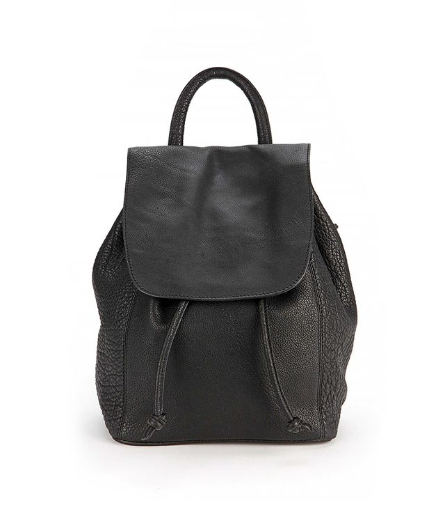 Silence + Noise Pebbled Leather Mini Backpack