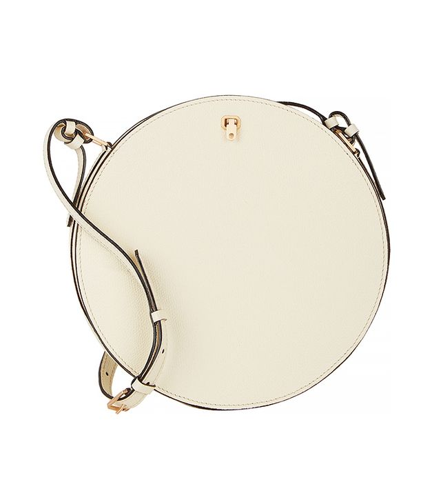 Valextra Galleria Round Shoulder Bag