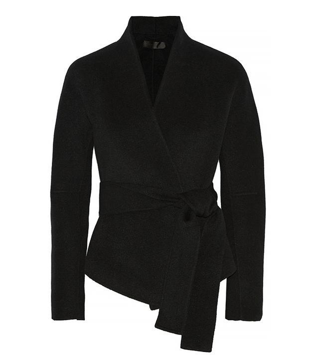 Donna Karan Belted Cashmere Jacket