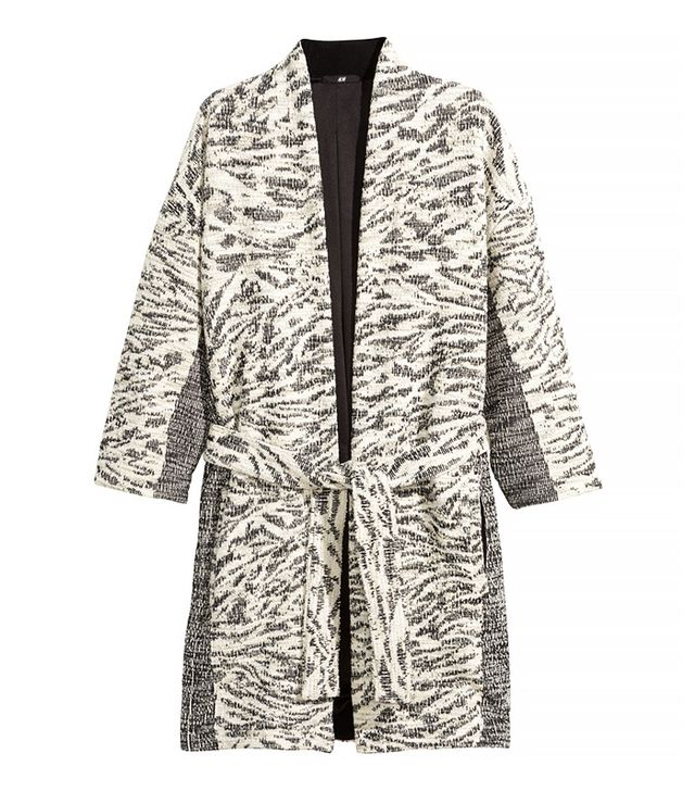 H&M Jacquard Weave Cardigan