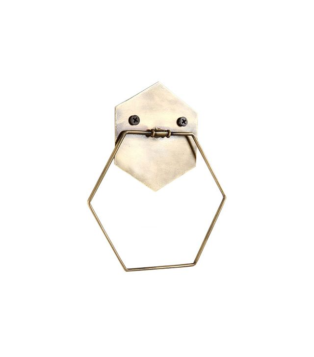 Urban Outfitters Hexagon Towel Ring