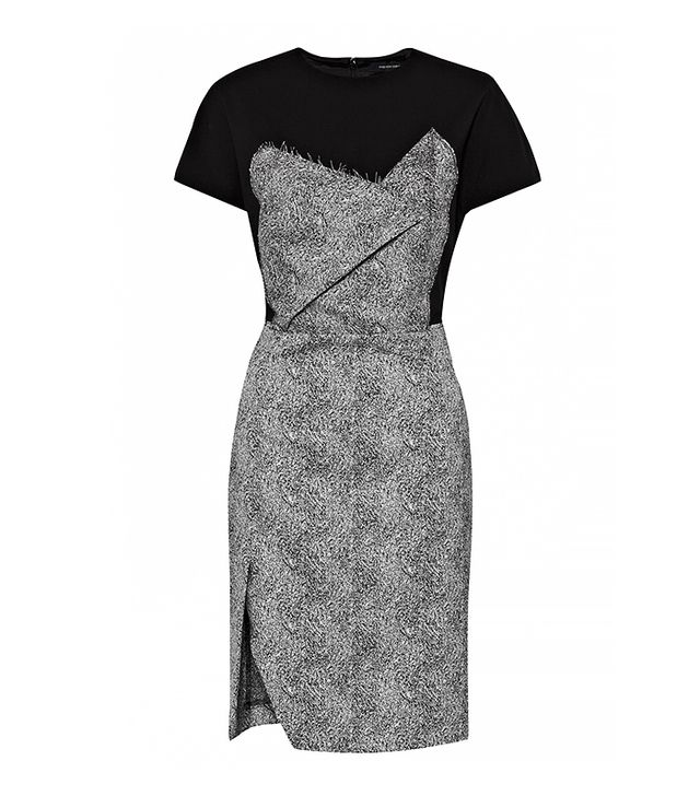 French Connection Powdered Pepper Structured Dress