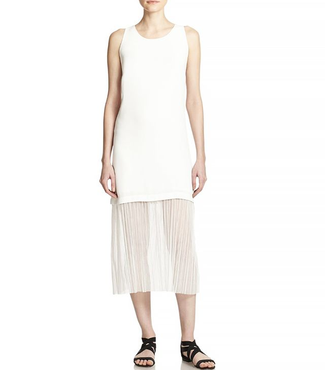 Elizabeth and James Kisa Contrast Hem Dress
