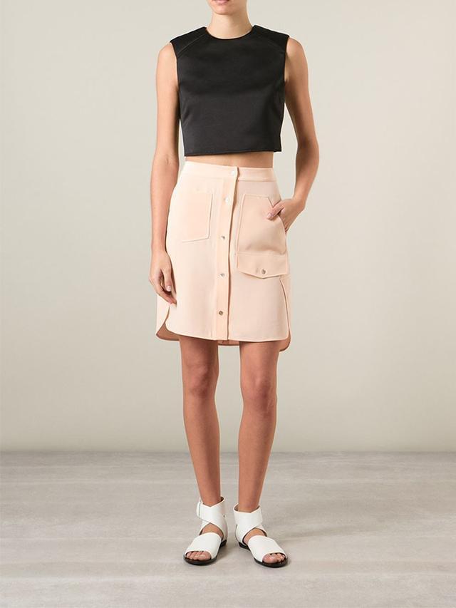 Alexander Wang Buttoned Skirt