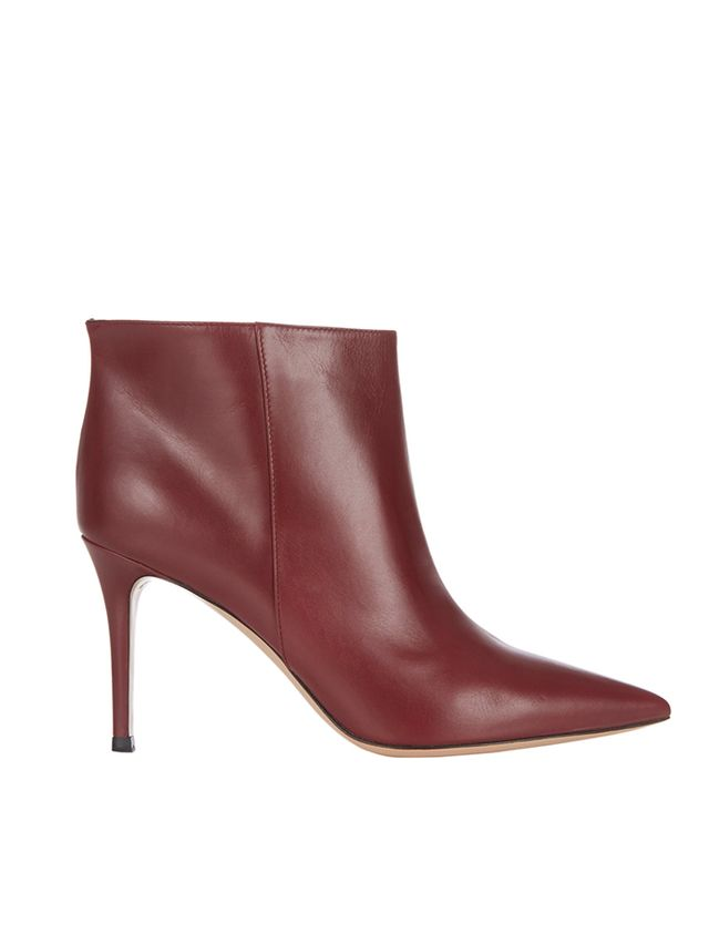 Gianvito Rossi Point-Toe Ankle Boots