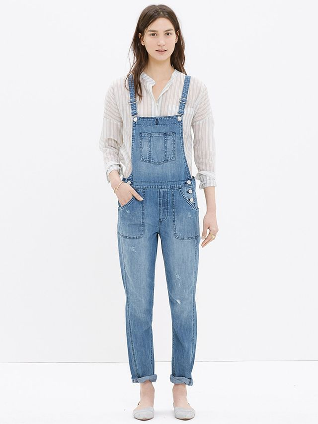 Madewell Park Overalls