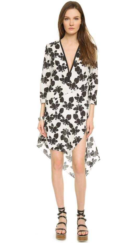 Thakoon Addition Volle Caftan Dress