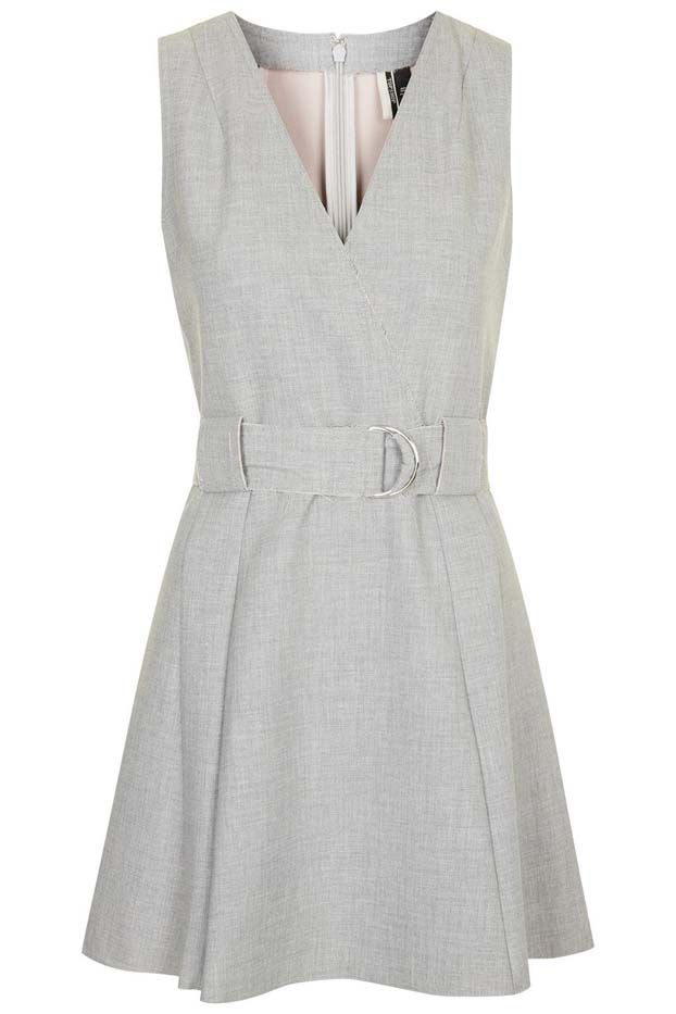 Topshop D-Ring Fitted Dress