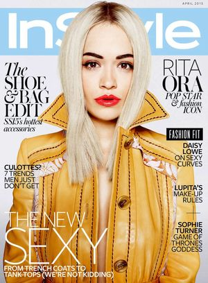 Rita Ora Is InStyle UK's April Cover Star