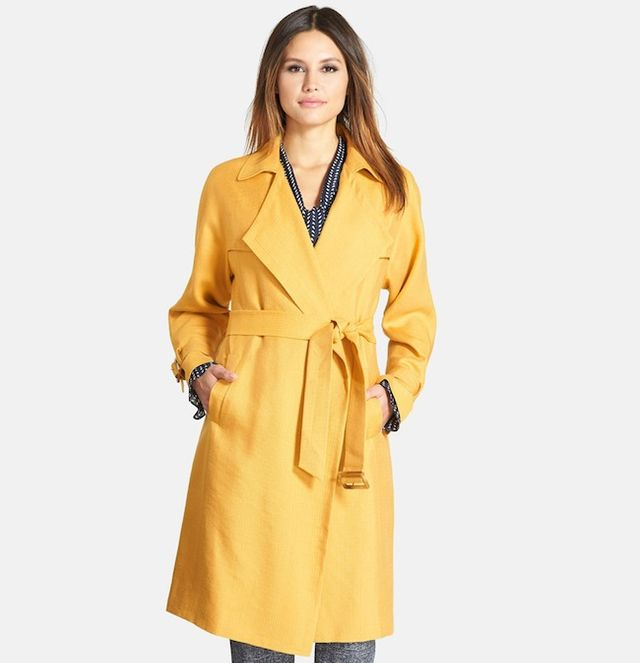Classiques Entier Relaxed Canvas Trench Coat
