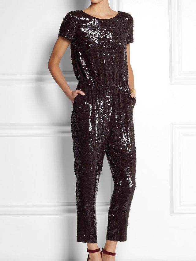 J. Crew Collection Sequined Jumpsuit