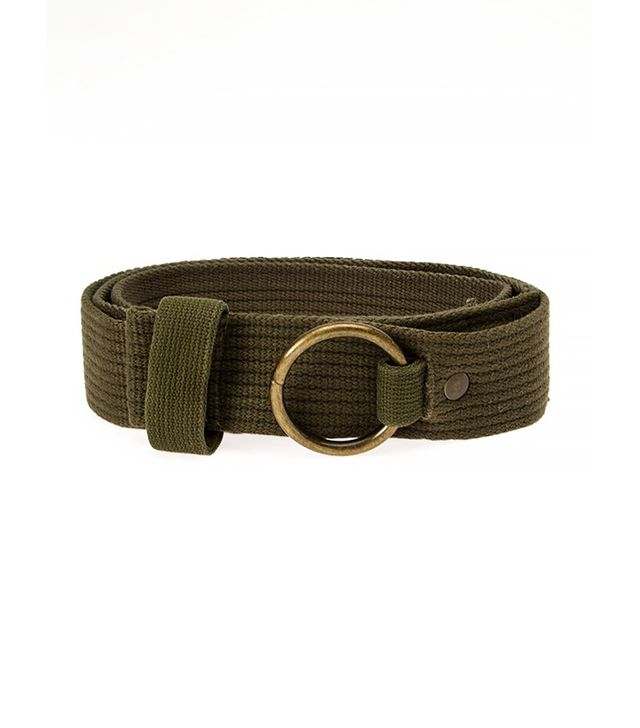 Greg Lauren Military Belt