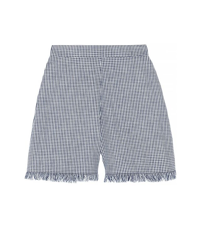 Chloe Gingham Cotton Shorts