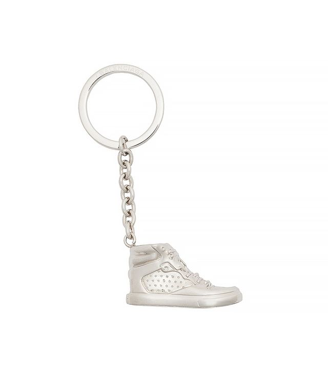 Balenciaga Silver Sneaker Keyring Clasp