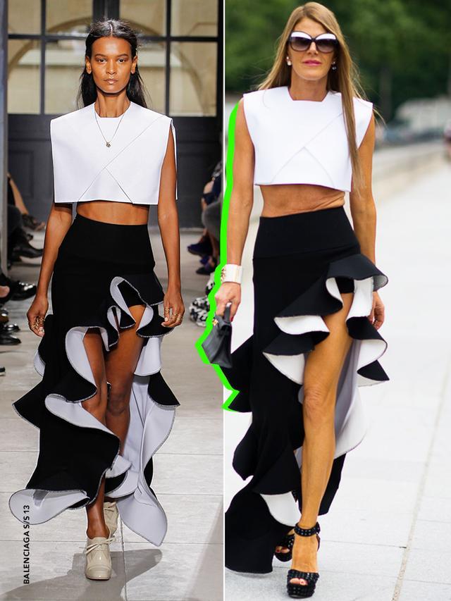 31 Times Anna Dello Russo Wore it Better Than a Model