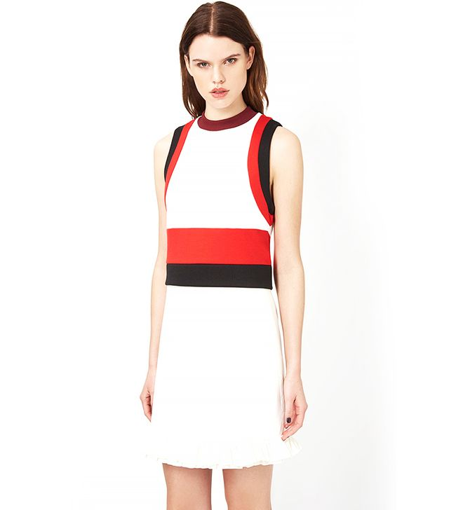 Topshop Paneled Sporty Tank Top