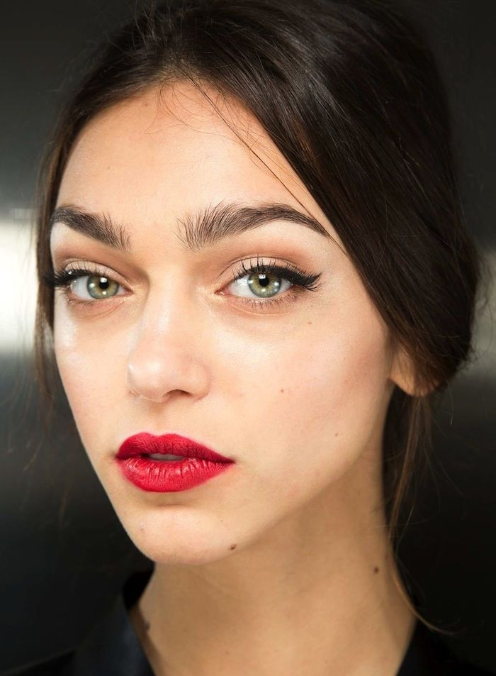 The Beauty Looks From Dolce Amp Gabbana F W 2015 Are Pure