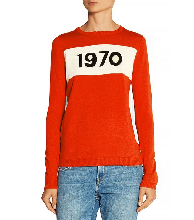 Bella Freud 1970 Intarsia Sweater