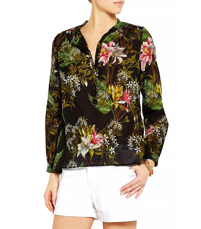 Isabel Marant Floral Cotton Blouse