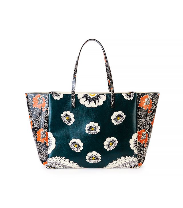 Valentino Floral-Print Tote Bag