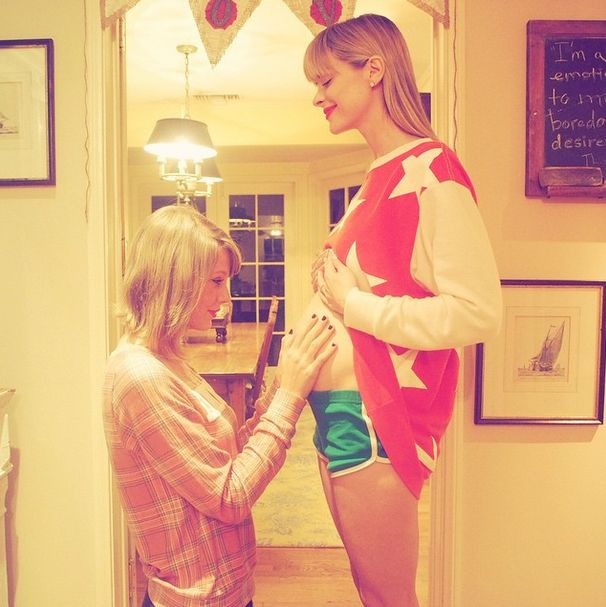 Guess Which Star Picked Taylor Swift as Godmother of Her Baby