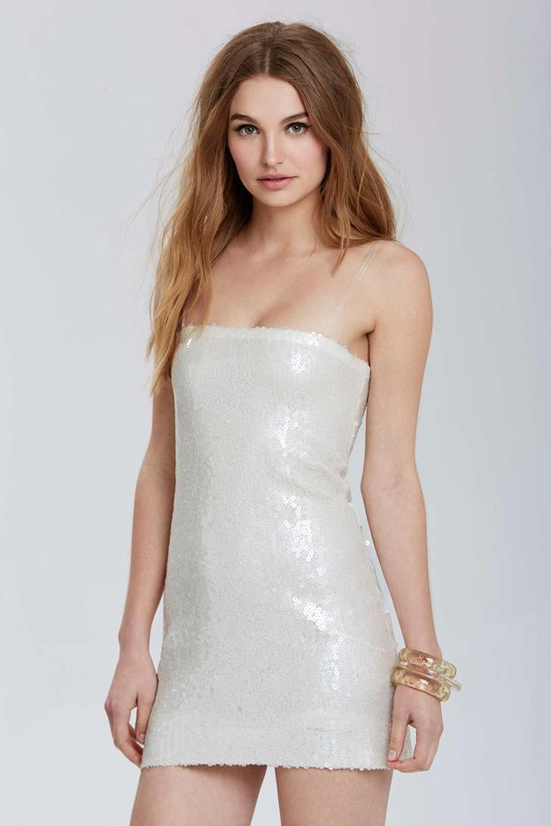Chanel Vintage Chanel Étampes Sequin Dress