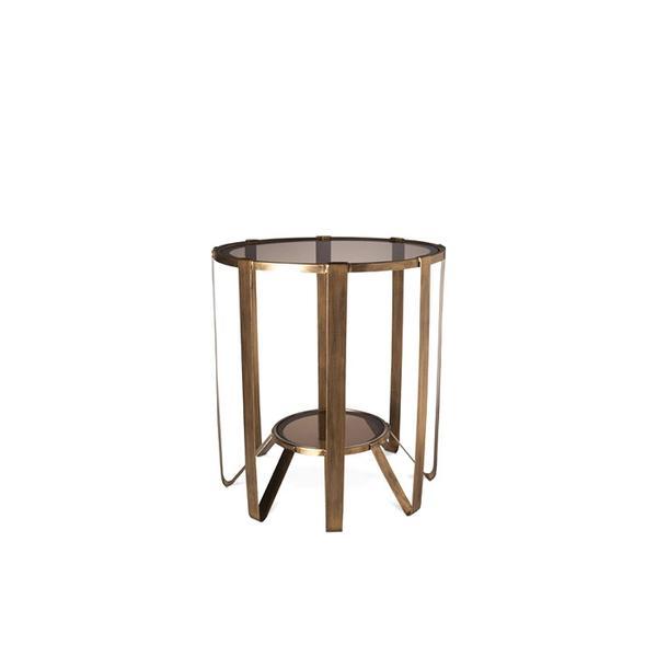 Target Nate Berkus Round Glass Cage Table