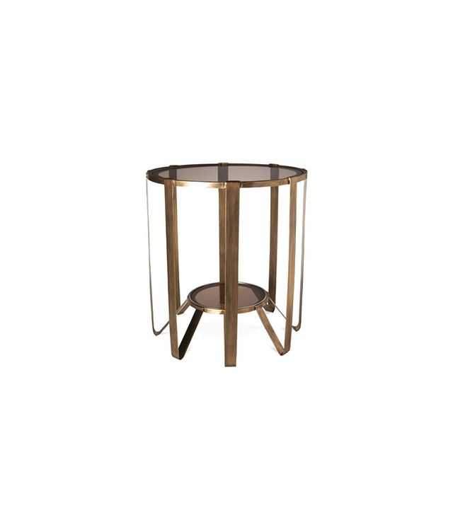 Target Nate Berkus Round Glass Cage Table