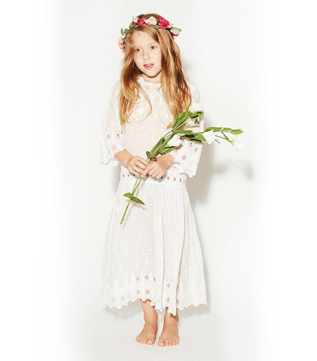 Stone Cold Fox Bride Vintage Flower Girl Dresses