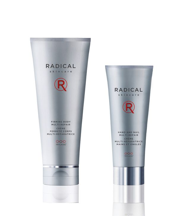 Radical Firming Body Repair ($78) and Hand and Nail Multi-Repair