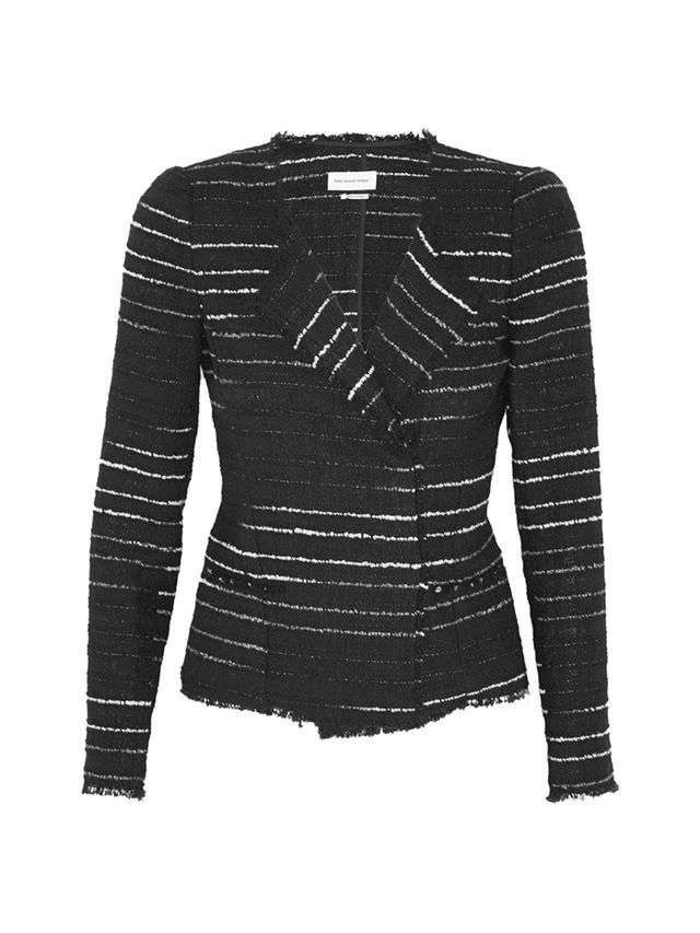 Étoile Isabel Marant Glenn Striped Bouclé Jacket