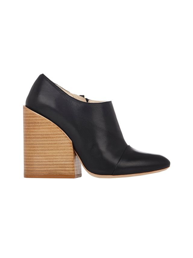 Chloé Cap-Toe Booties