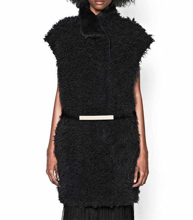 French Connection Fallon Faux Fur Gillet