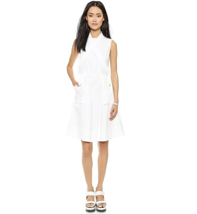 Marc by Marc Jacobs Washed Poplin Dress