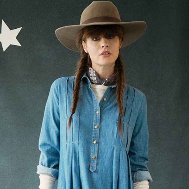 Stylists Emily and Meritt Get Back to Their Roots: Designing Denim