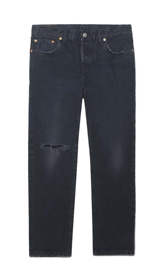 Levi's 501 CT Mid-Rise Straight-Leg Jeans