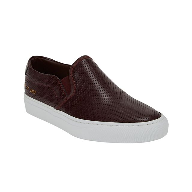 Common Projects Perforated Slip-On Sneakers